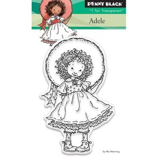 Penny Black Transparant stempel: Adele