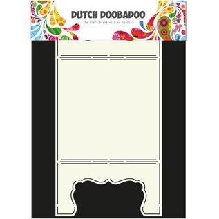 Dutch DooBaDoo A4 Schablone: Card Art Fenster Karte