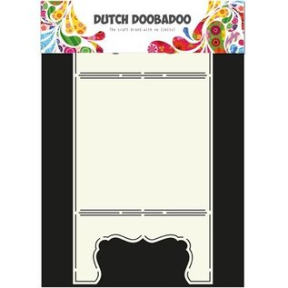 Dutch DooBaDoo A4 Skabelon: Card Art Card Vindue
