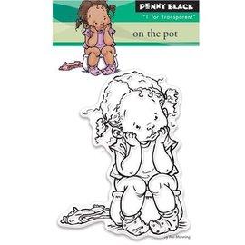 Penny Black timbro trasparente: Sul piatto