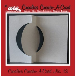 Stempel / Stamp: Transparent Crealies Opret en kort nr. 13 for hulkort