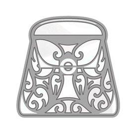 Tonic Stansning og prægning skabelon: Rococo Stilfuld håndtaske