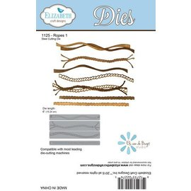 Elisabeth Craft Dies Punching and embossing template: 7 different Corde!
