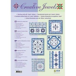 Sticker Kreatives Kartenset: Creative Jewels