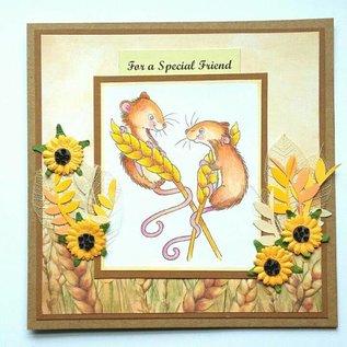 Wild Rose Studio`s selos transparentes: 2 ratos bonitos