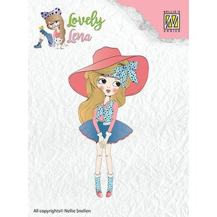 Nellie Snellen Transparent stempel: Pretty Lena