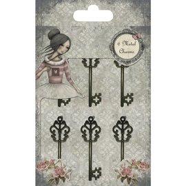 Embellishments / Verzierungen Enfeites: chave, Santoro Mirabelle