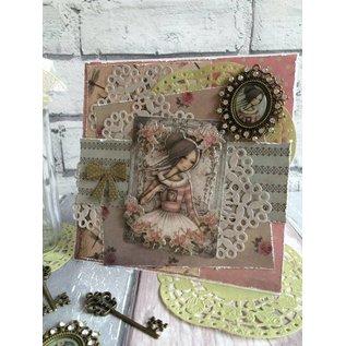 Embellishments / Verzierungen Versieringen: sleutel, Santoro Mirabelle