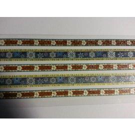 Sticker adesivo Glitter Tessuto Trims