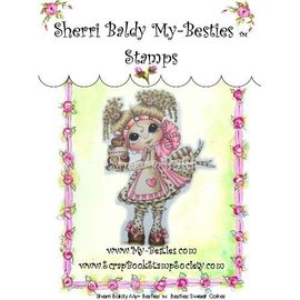 "My BESTIES My-Besties ""Sherri Baldy"", transparent Stempel"