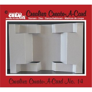 Stempel / Stamp: Transparent Crealies Create A Card no. 14 Stanz für Karte