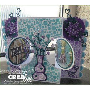 Crealies und CraftEmotions Crealies Create A Card no. 21 for punch card