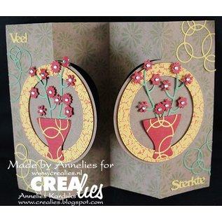 Stempel / Stamp: Transparent Crealies Opret en kort nr. 21 for hulkort