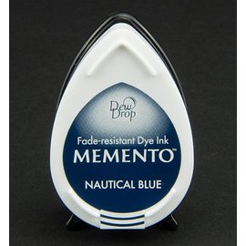 FARBE / STEMPELKISSEN MEMENTO DewDrops Stempeltinte, InkPad-Nautical Blue