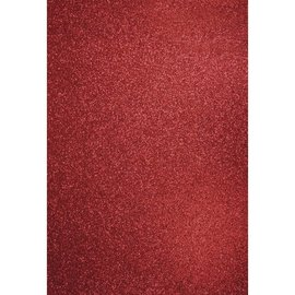 Karten und Scrapbooking Papier, Papier blöcke A4 mestiere cartone: cardinale glitter rosso