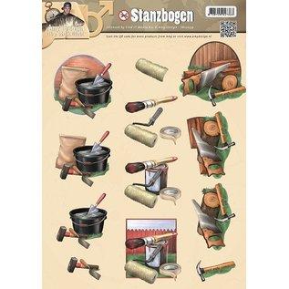 BILDER / PICTURES: Studio Light, Staf Wesenbeek, Willem Haenraets Stanzbogen, Männermotiven