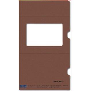 KARTEN und Zubehör / Cards 5 slide card + 5 enveloppen!