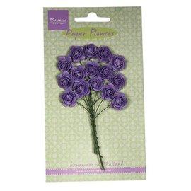 Marianne Design Mini-roosjes, donkere lavendelkleur