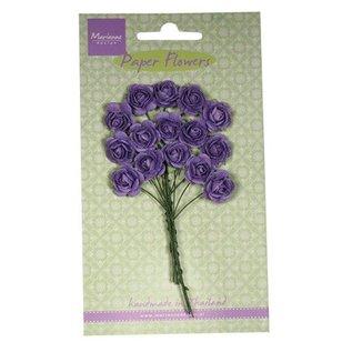 Marianne Design Mini-Röschen, dunkel lavendel farbe