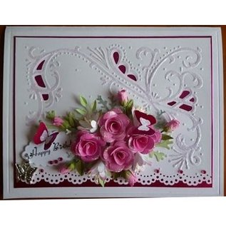 Marianne Design Rosen-knospe hell pink