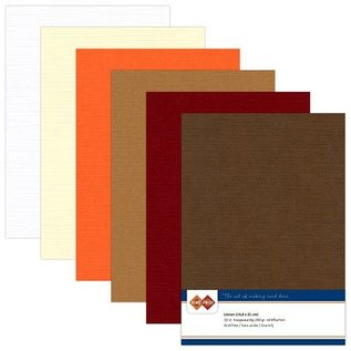 DESIGNER BLÖCKE / DESIGNER PAPER Linen pap, A5 / 240 gr