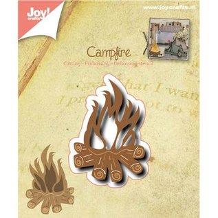 Joy!Crafts / Hobby Solutions Dies Stansning og prægning skabelon: Campfire