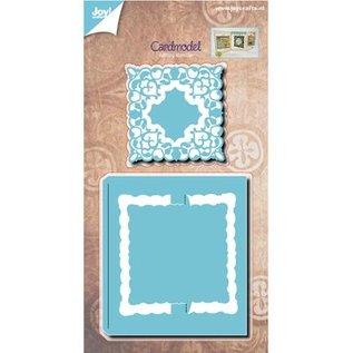 Joy!Crafts / Jeanine´s Art, Hobby Solutions Dies /  maken beweegbare kaarten: stempelen en embossing stencil