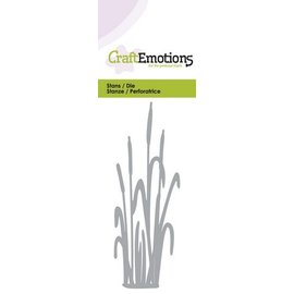 Crealies und CraftEmotions Punching and embossing template: Cattail