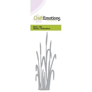 Crealies und CraftEmotions Poinçonnage et modèle de gaufrage: Cattail