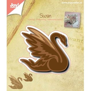 Joy!Crafts / Jeanine´s Art, Hobby Solutions Dies /  Punching and embossing template: Swan