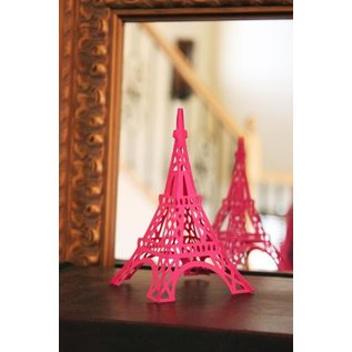 Spellbinders und Rayher Punching and embossing template: Shapeabilities GLD 010 Le Tour Eiffel
