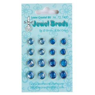 Bijoux Brads, bleu foncé / bleu clair