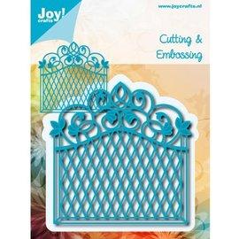 Joy!Crafts / Hobby Solutions Dies Stansning og prægning skabelon: dekorativ ramme Vintage Goal