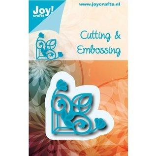 Joy!Crafts / Jeanine´s Art, Hobby Solutions Dies /  Stanz- und Prägeschablone: Ecke Vintage
