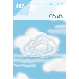 Joy!Crafts / Hobby Solutions Dies Punching and embossing template: 3 Cloud