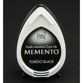FARBE / STEMPELKISSEN MEMENTO DewDrops Stempeltinte, InkPad-Tuxedo Black