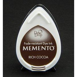 FARBE / STEMPELINK MEMENTO DewDrops Stempeltinte, InkPad-Potters Rich Cocoa