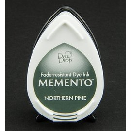 dewdrops Memento carimbo a tinta InkPad-Potters Northern Pine