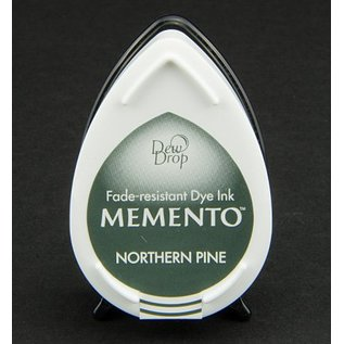 MEMENTO DewDrops Stempeltinte, InkPad-Potters Northern Pine