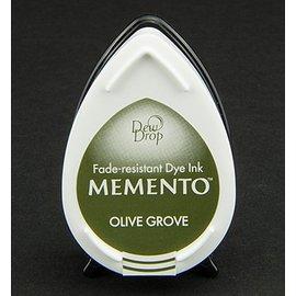 FARBE / STEMPELINK MEMENTO DewDrops Stempeltinte, InkPad-Olive Grov