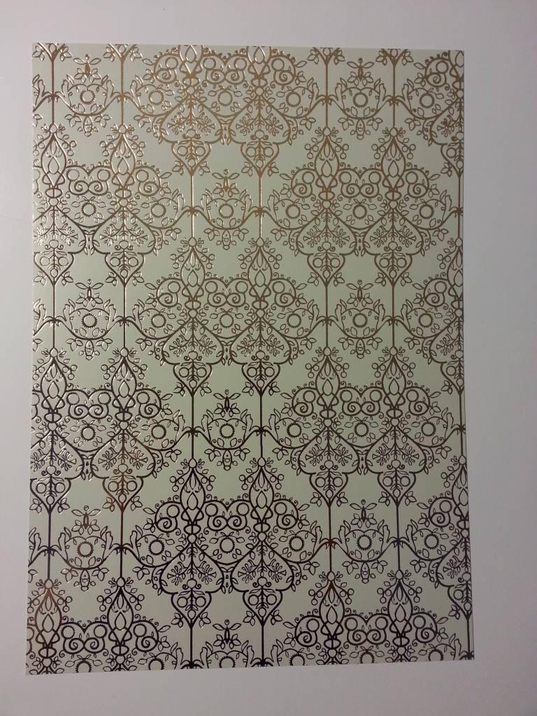 Gelamineerde Gold 1 Boog Deco Box Baroque Hobby Crafts24eu