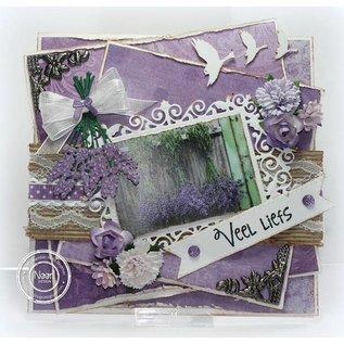 Joy!Crafts / Jeanine´s Art, Hobby Solutions Dies /  Stansning og prægning skabelon: Lavender