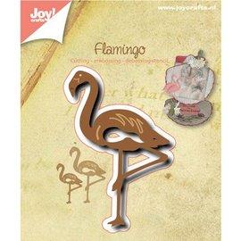 Joy!Crafts / Hobby Solutions Dies Ponsen en embossing sjabloon: Flamingo