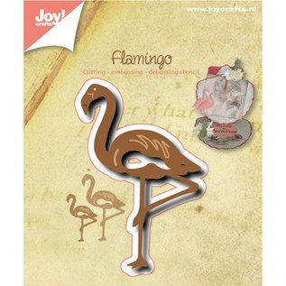 Joy!Crafts / Jeanine´s Art, Hobby Solutions Dies /  Perfuração e molde de estampagem: Flamingo