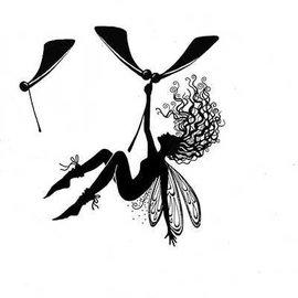 Stempel / Stamp: Transparent Stempel Transparent: hübsche Engel