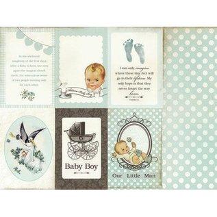 Kaisercraft und K&Company Designerblock: Baby Jungen