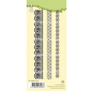 Leane Creatief - Lea'bilities tampons transparents, des bordures de dentelle 3