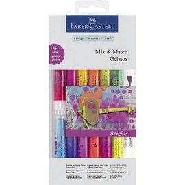 FARBE / STEMPELKISSEN Gelato Set met 12 kleuren + 1 + 2 brush spons