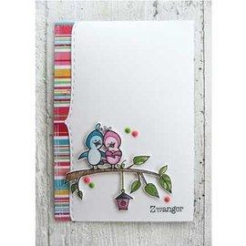 Marianne Design timbre transparent: poussins Peep