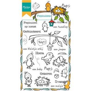 Marianne Design Transparent Stempel: Piep Küken